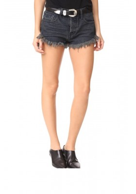 BRANDOS RELAXED FIT LONG RISE DENIM SHORT