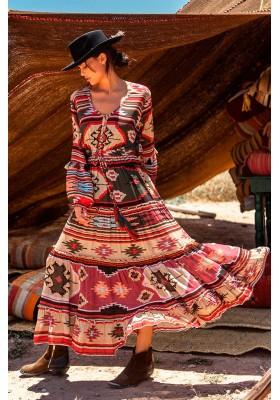 KILIM MAXI DRESS