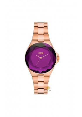 CRYSTANA WATCH PURPLE