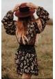 PAISLEY LAPIS MINI DRESS