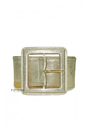 LEATHER GOLD BELT