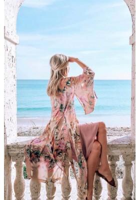 LILY MAXI KIMONO LILAC BY SPELL & THE GYPSY