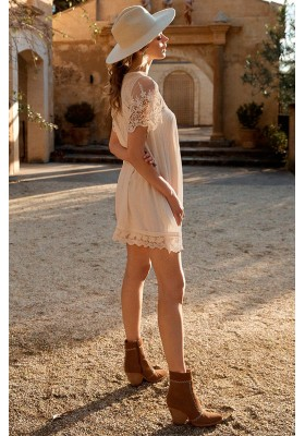 VESTIDO MAGGIE EMBROIDERED TUNIC SPELL& THE GYPSY
