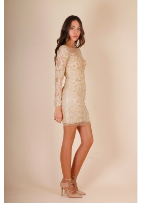 GOLDEN LIGHT DRESS