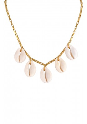 THE COWRIES CHAIN CHOCKER