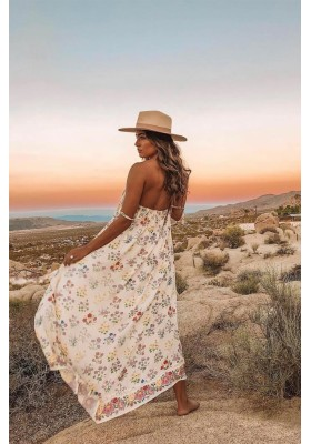 POSY MAXI SUNDRESS GARDENIA BY SPELL & THE GYPSY DESIGNS