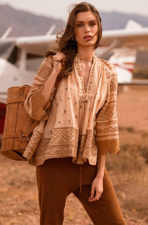 MUWALA EMBROIDERED BLOUSE SPELL & THE GYPSY