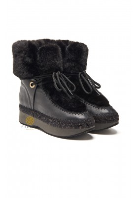 BOTINES BLACK FUR