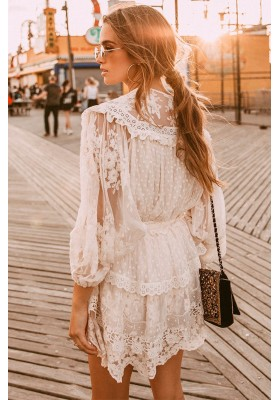 DAWN LACE BLOUSE SPELL & THE GYPSY