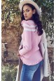 STRAPPY PINK SWEATER VENECIA