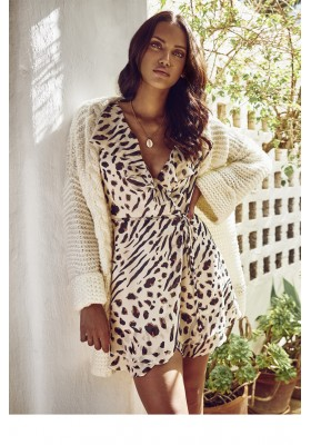 WILDLIFE WRAP DRESS FETICHE SUANCES
