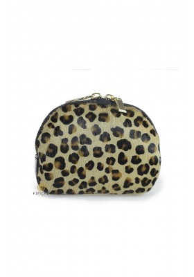 MONEDERO PIEL MINI LEOPARDO