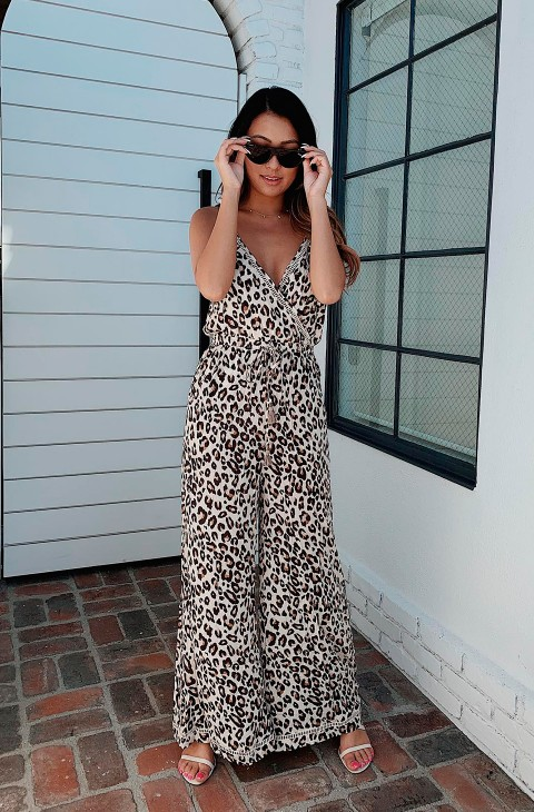 MONO BODHI LEOPARD JUMPSUIT SPELL & THE GYSY