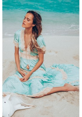 OCEAN GOWN SEAFOAM BY SPELL & THE GYPSY