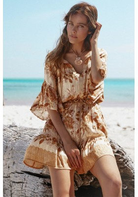 VESTIDO COCO LEI FLUTTER SLEEVE PLAYDRESS SPELL & THE GYPSY