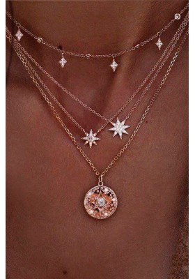 STAR LOVERS CHAIN NECKLACE