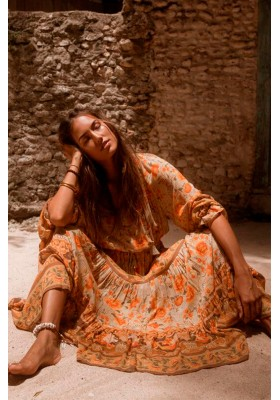 VESTIDO SEASHELL GOWN SPELL & THE GYPSY