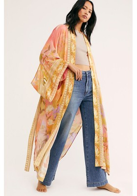 MADISON MAXI KIMONO CORAL SPELL & THE GYPSY