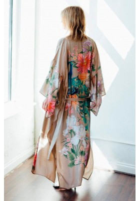 WATERFALL ROBE TAUPE SPELL & THE GYPSY