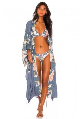 WATERFALL ROBE DEEP BLUE SPELL & THE GYPSY