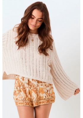 JERSEY  HEATHER KNIT JUMPER SPELL & THE GYPSY