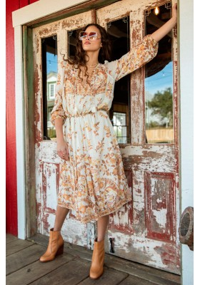 VESTIDO HENDRIX BOHO DRESS CREAM SPELL & THE GYPSY