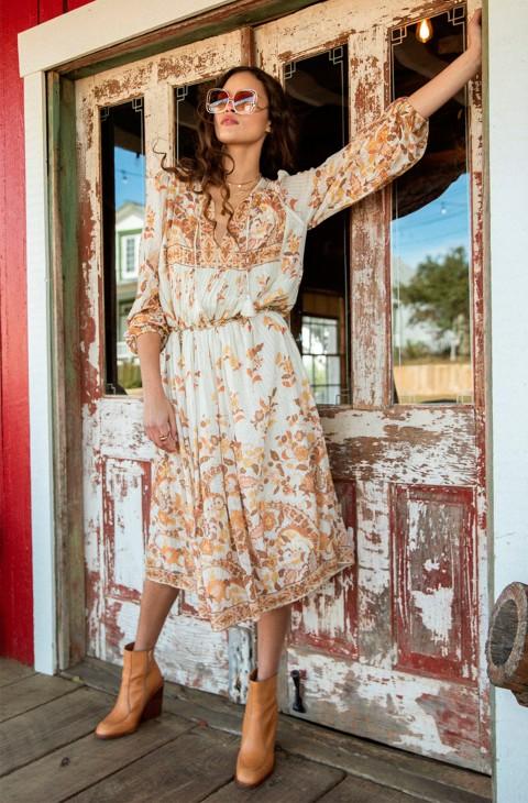 HENDRIX BOHO DRESS CREAM SPELL & THE GYPSY