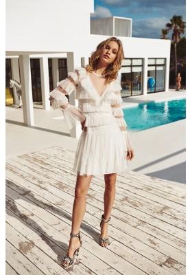 ALANA DRESS WHITE