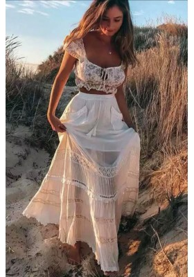 HANGING ROCK MAXI SKIRT WHITE BY SPELL & THE GYPSY DESINGS