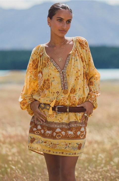 VESTIDO MYSTIC TUNIC DRESS