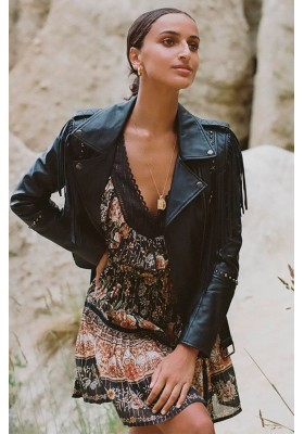 CHAQUETA DE PIEL TEODORA LEATHER JACKET SPELL & THE GYPSY