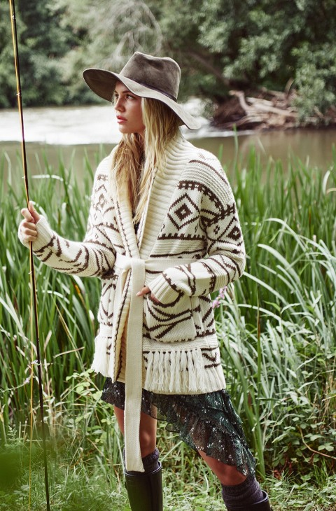 TRIBAL CARDIGAN FETICHE SUANCES