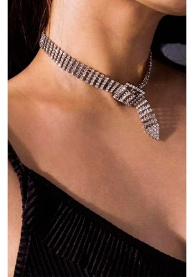 COLLAR STRASS LOVED