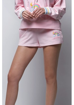 SHORT ROSA PASTEL BY SPACE FLAMINGO