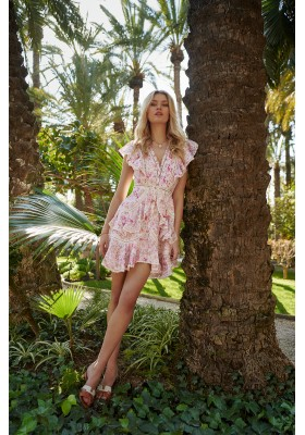 BLOSSOM DRESS PINK FETICHE SUANCES