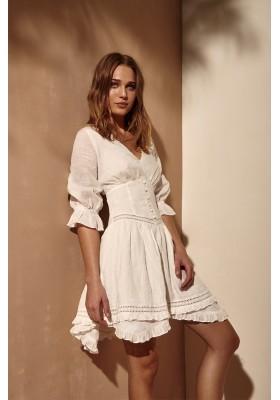 PORTO NOVO WHITE DRESS