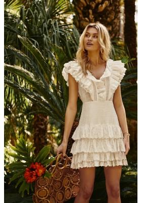SORRENTO WHITE DRESS FETICHE SUANCES