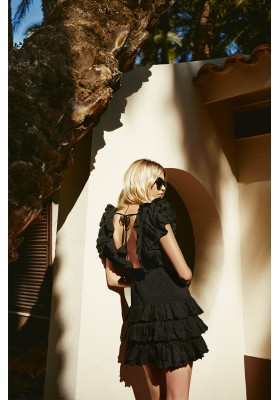 SORRENTO BLACK DRESS FETICHE SUANCES