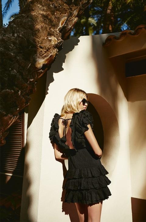 SORRENTO BLACK DRESS FETICHE SUANCES