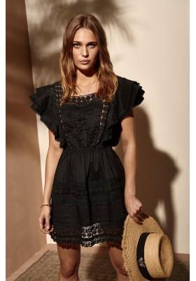 POSITANO BLACK DRESS FETICHE SUANCES