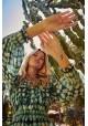 VENTURA DRESS GREEN FETICHE SUANCES