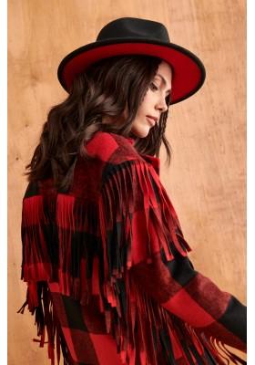 SOMBRERO BLACK & RED
