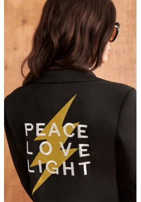 BLAZER PEACE LOVE LIGHT BY FETICHE SUANCES