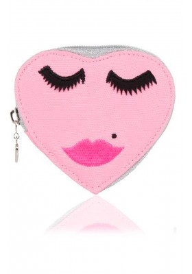 PINK FACE PURSE