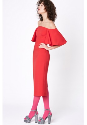 MIDI DRESS FUCSIA CASIOPEA