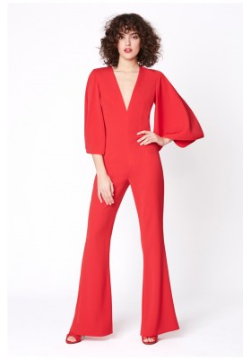 JUMPSUIT VENUS RED