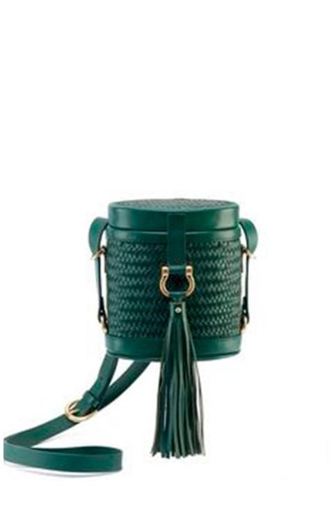 LUNA CROSS BODY GREEN BAG